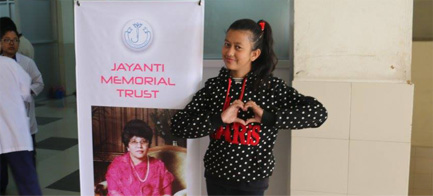 JAYANTI MEMORIAL TRUST………… A TRIBUTE